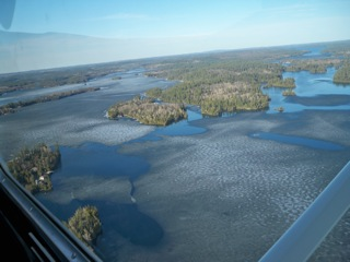 Going N towards Temagami Is/NE Arm