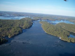 Portage Bay looking North