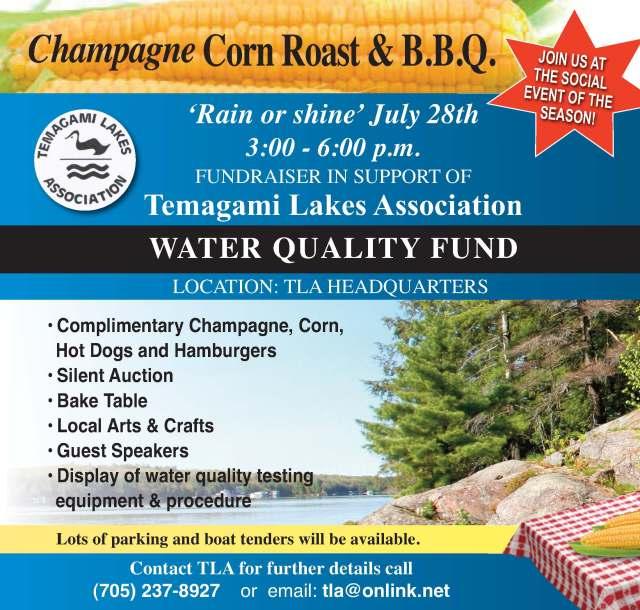 Champagne Corn Roast & BBQ Poster