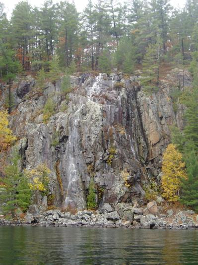 Rockfall in October