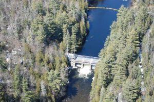 Cross Lake Dam