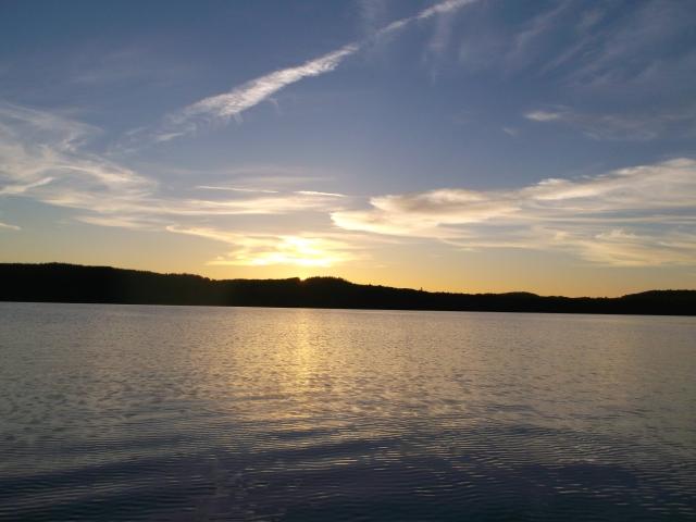 Sept. sunset