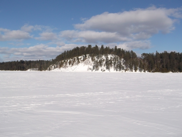 slide rock towards north arm